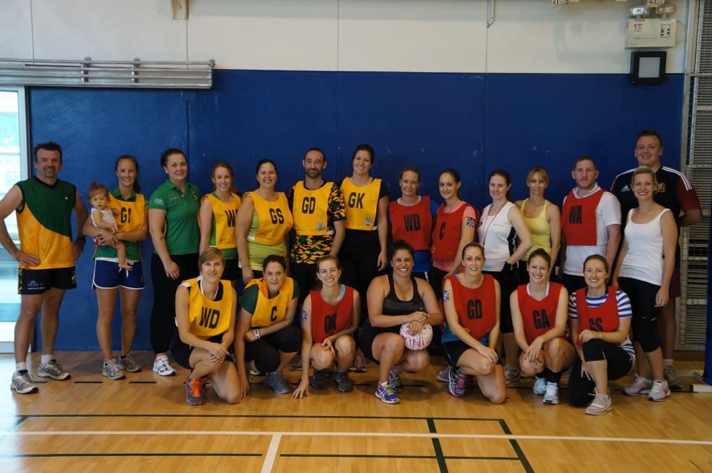 netball group