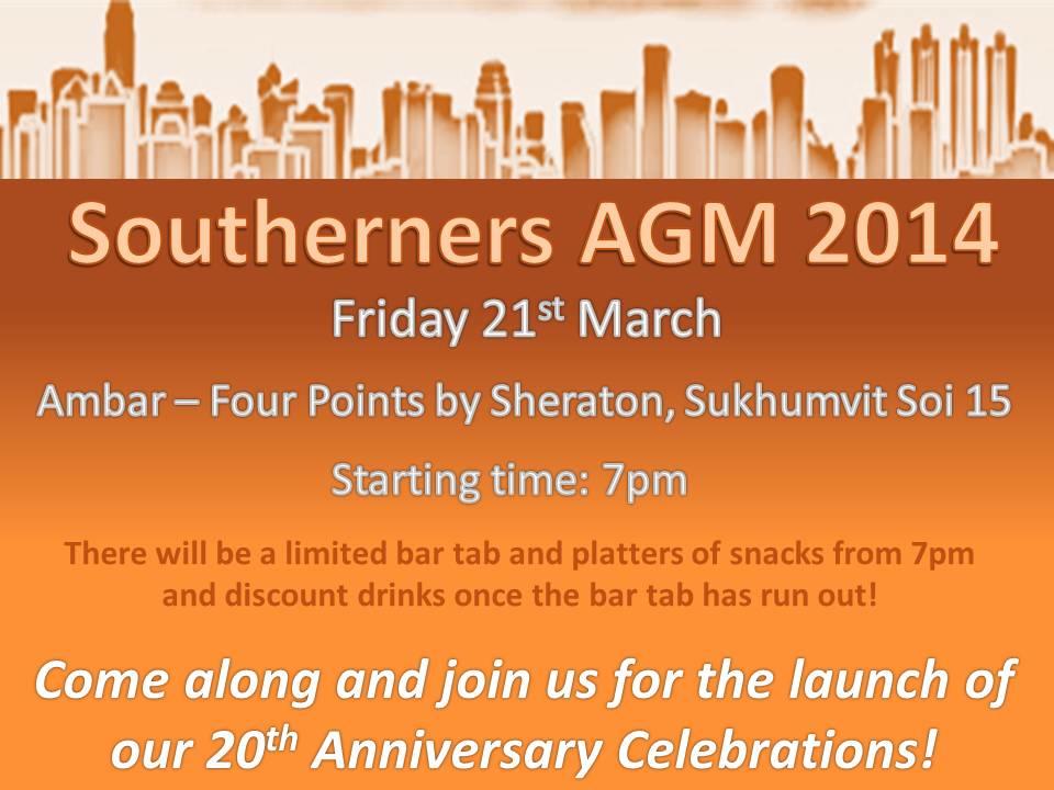 Southo AGM 2014